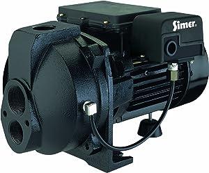 Simer 3205C 1/2 HP Convertible Deep Well Jet Pump