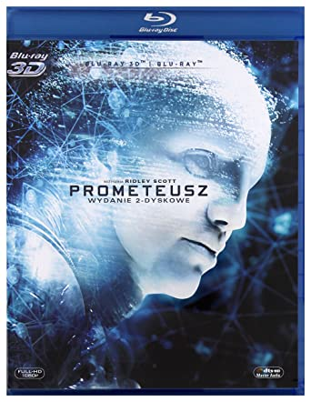Prometheus Blu-Ray + Blu-Ray 3D Region B IMPORT No hay versión ...