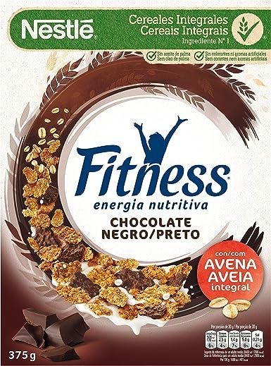 Cereales NESTLÉ Fitness con chocolate negro - Copos de trigo ...