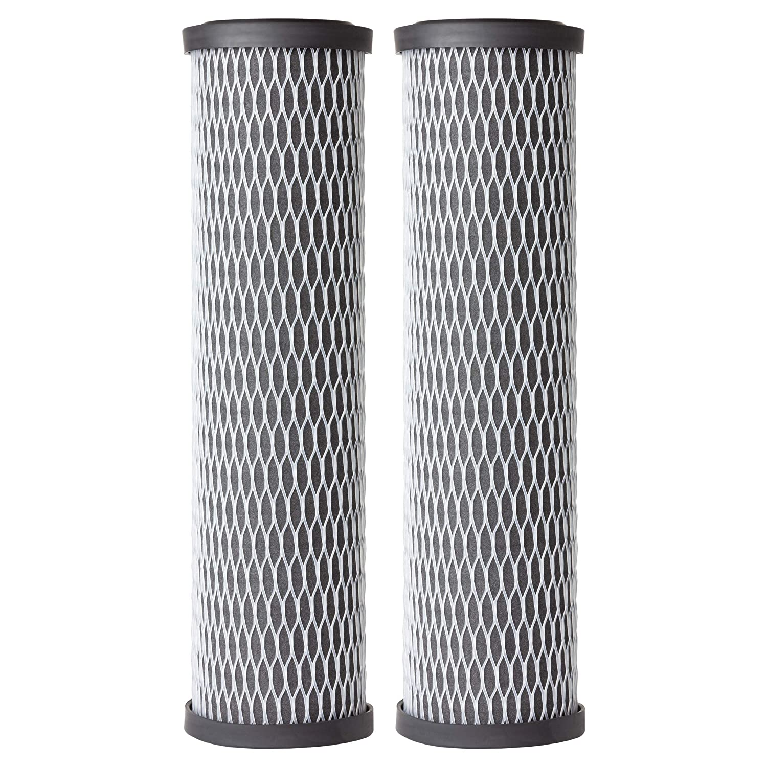 AO Smith AO-WH-PREL-RCP - 2 Pack Carbon Block Sediment Filter Replacement 2.5 Inch - 5 Micron Filtration