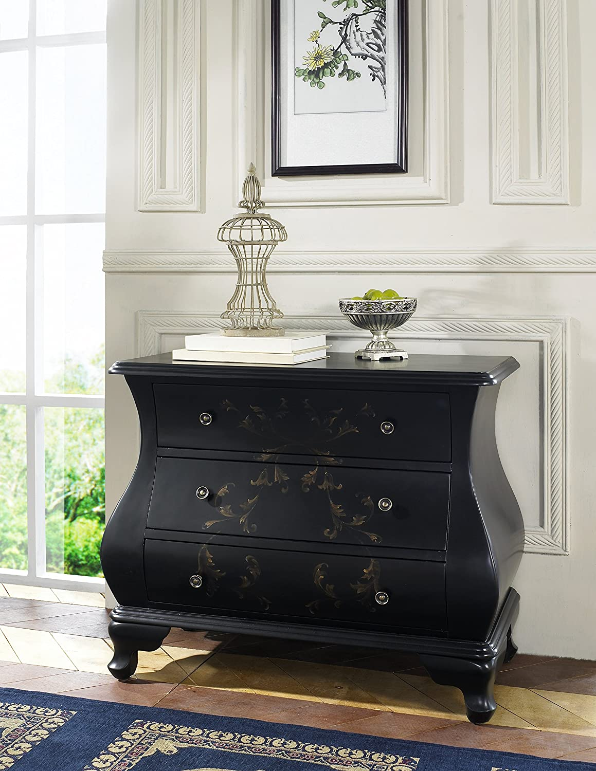 Amazoncom Pulaski Hand Painted Bombay Chest