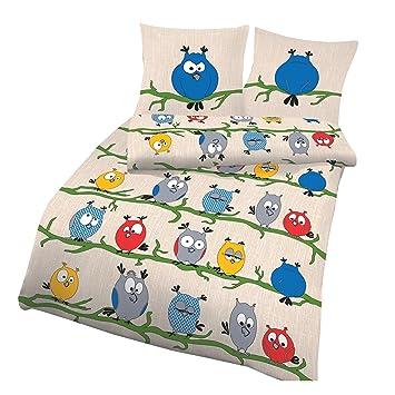 Unbekannt Aminata Bettwasche Eule 135x200 Lustige Bettwasche