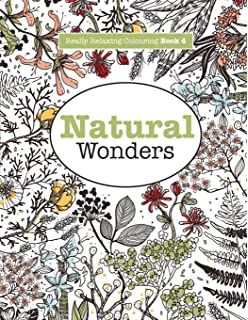 Really RELAXING Colouring Book 4 Natural Wonders A Colourful Journey Through The World