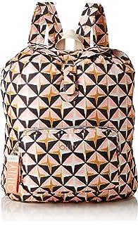 Oilily - Enjoy Geometrical Backpack Lvz, Bolsos mochila Mujer, Rosa (Rose),