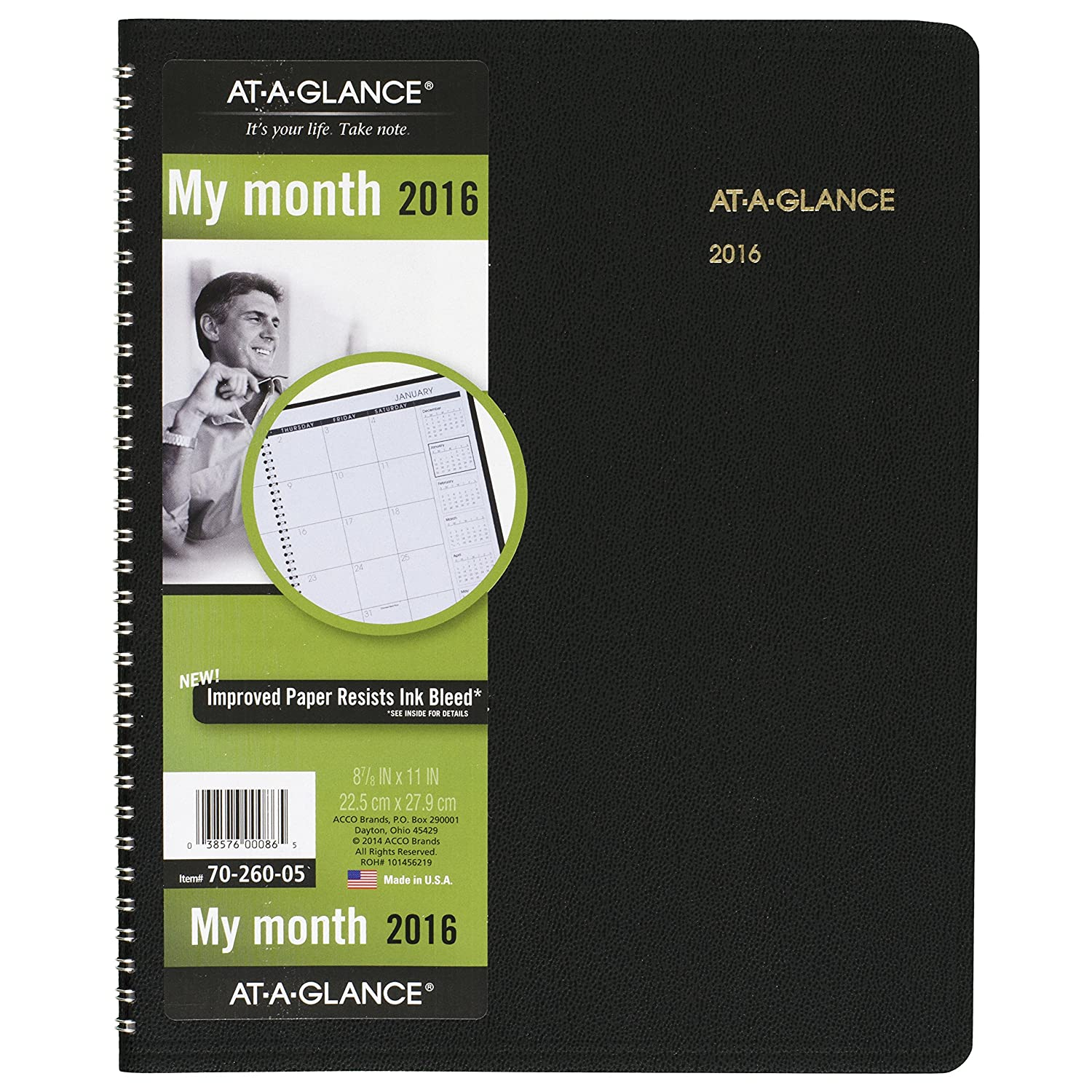 1 Notebook 565108 B00w1w6ncy At A Glance Monthly Planner 2016 15 Months 9 X 11 Inch Page Size