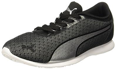 Puma Women s Vega Mesh Black-Silver Sneakers  Buy Online at Low ... b7951dd4bde6