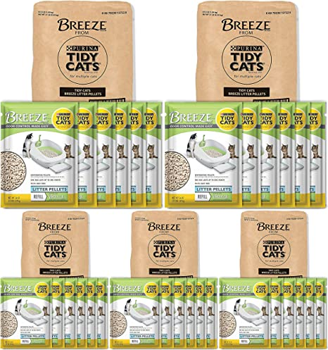 Purina Litter Tidy Cat Breeze Pellets 3.5 lb New Free Shipping