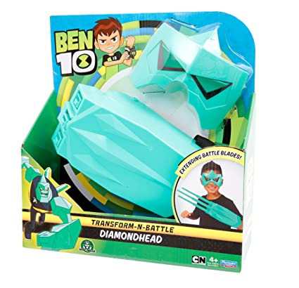 Amazon.com: Ben 10 transform-n-battle Papel Play Set ...