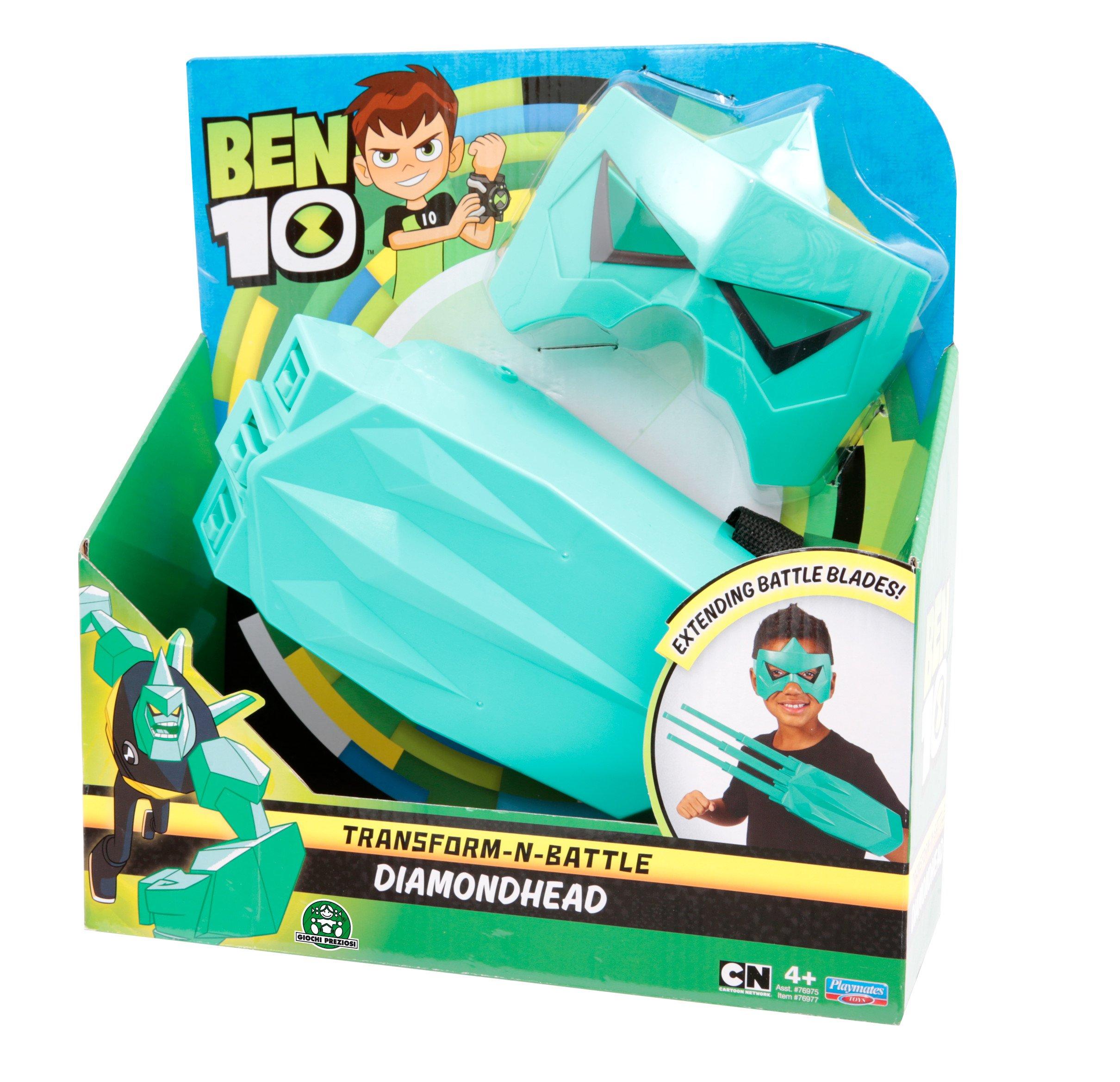 Ben 10 BEN06200 Transform-N-Battle Diamondhead Gauntlet