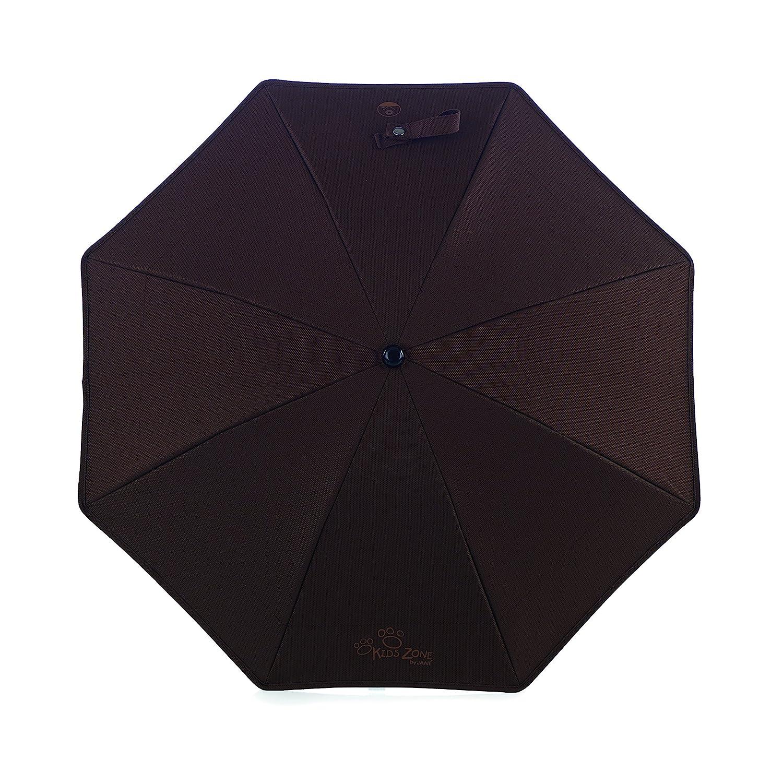 Jan/é 8420421036235 Ombrelle Anti UV coffee bronze
