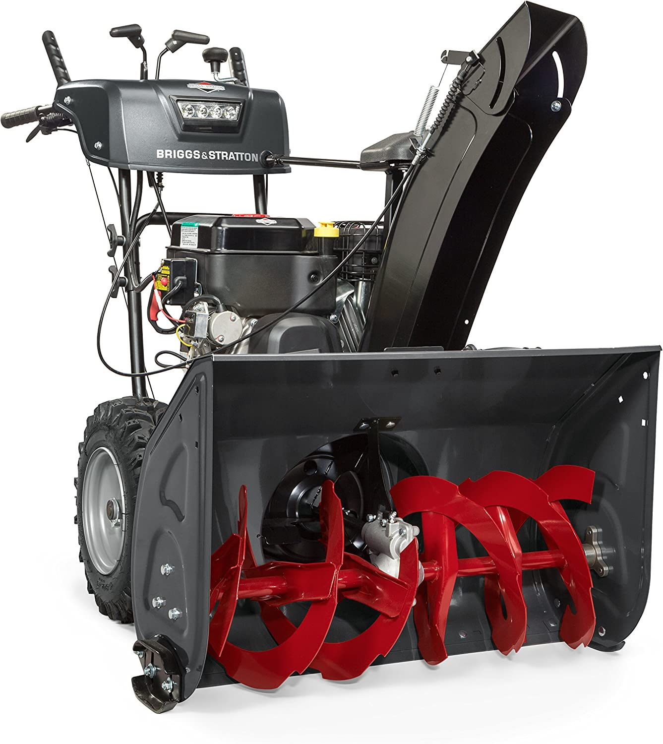 """30"""" Dual-Stage Snow Blower w/ Heated Hand Grips"""