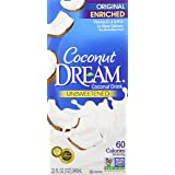 COCONUT DREAM Enriched Original Unsweetened Coconut Drink, 32 Fluid Ounce (Pack of 6)