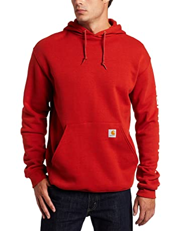 Carhartt Men s Midweight Sleeve Logo Hooded Sweatshirt 3c887634d