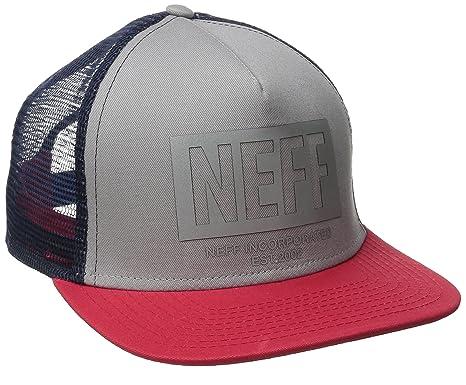 Neff Corpo Trucker gorra gris, color gris, tamaño talla única