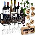Wall-Mounted Wine Racks