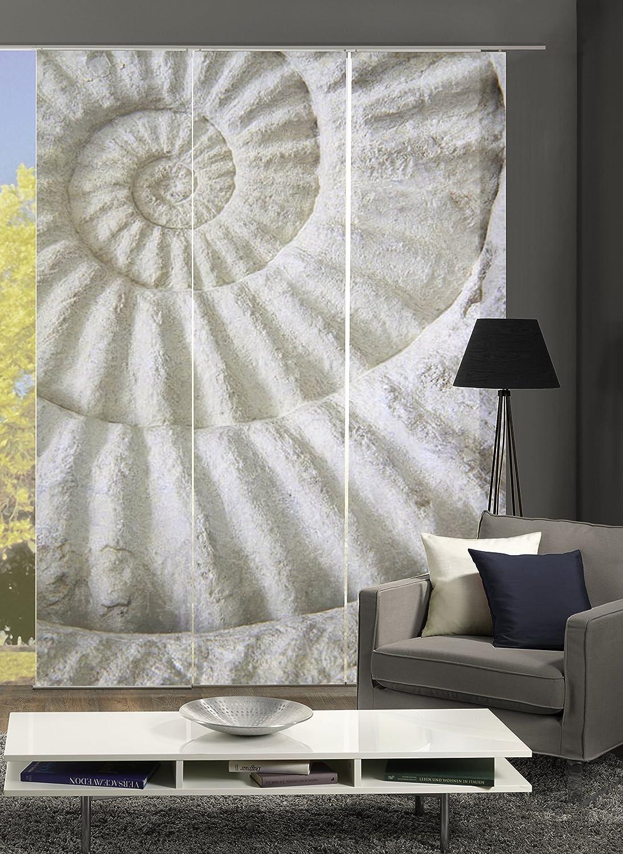 245/x 60/cm plastica /711/ Colore Naturale Home fashion 87790/ /Evening Tenda a Pannello con Stampa Digitale