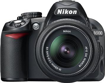 Nikon D3100 - Cámara réflex Digital de 14.2 MP (Pantalla 3