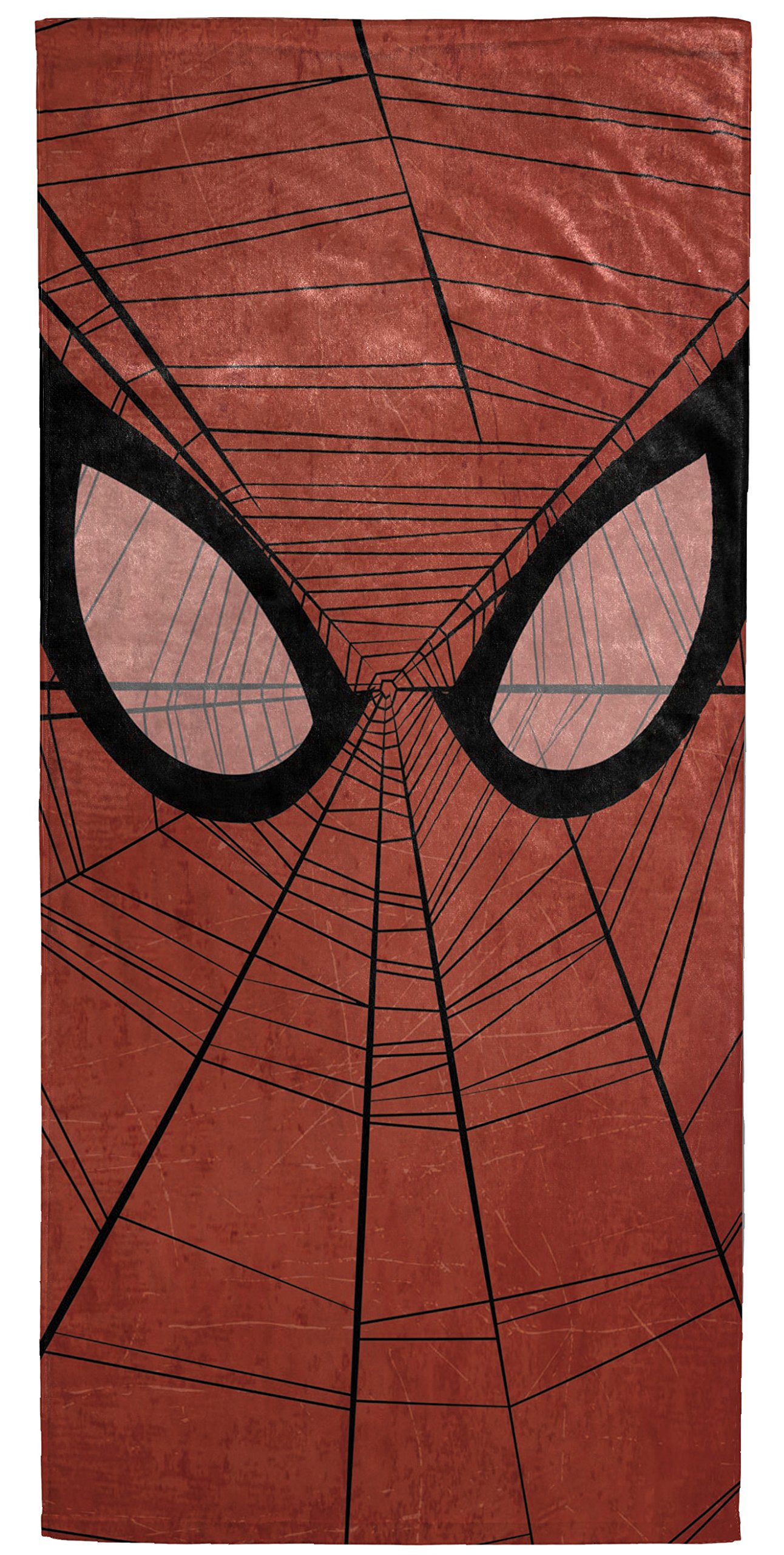 Marvel Spiderman Spidey Face Soft Cotton 30'' x 60'' Bath, Pool, Beach Towel