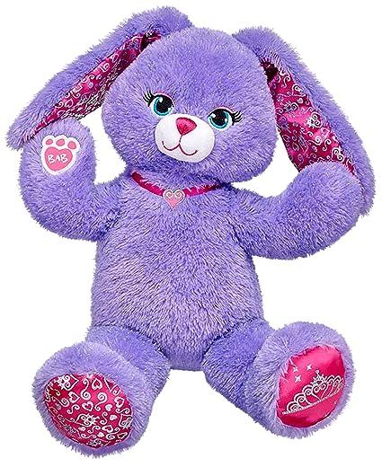 1ccebfe2b48 Amazon.com  Build a Bear Pawrincess Purple Bunny Rabbit 17 inch ...