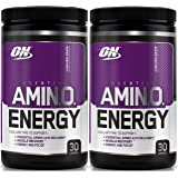 Optimum Nutrition Essential Amino Energy, Pack of Two 30 Servings (Concord Grape 2 x 30 servings)