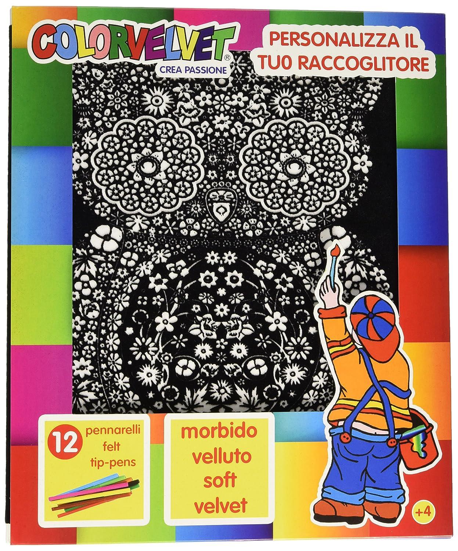 Lupo Raccoglitore Ad Anelli Colorvelvet C24