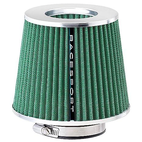 Sumex Airstgr - Filtro Aire Universal con Adaptador, Verde / Abierto