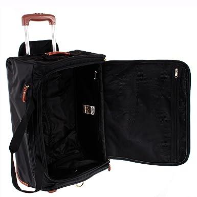 Brics Trolley para portátil, X-travel Borsone Ruote, negro - negro, BXL32510.101: Amazon.es: Equipaje