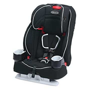 Amazon.com : Graco Atlas 65 2-in-1 Harness Booster Car Seat, Glacier