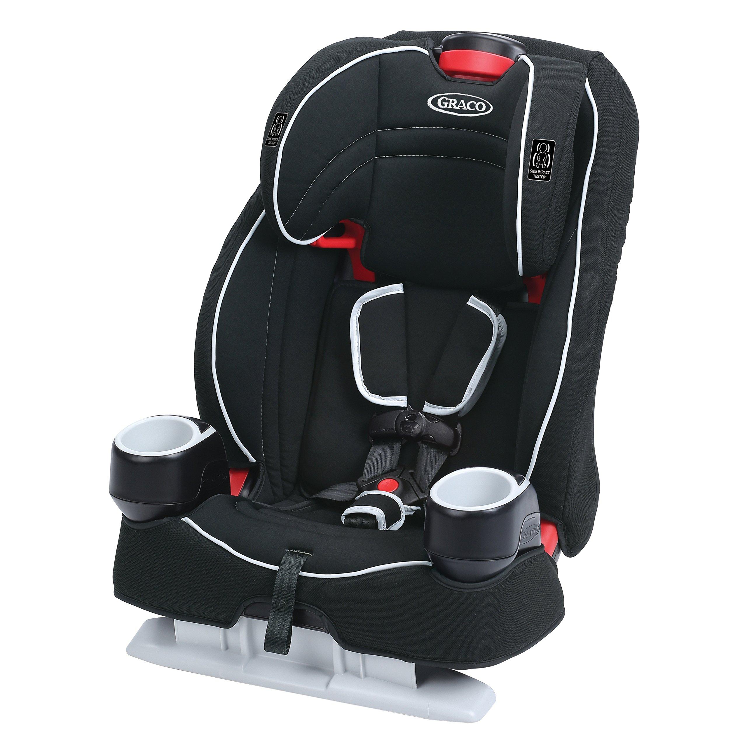 Graco Atlas 65 2 In 1 Harness Booster Car Seat Glacier
