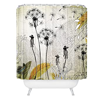 Amazon Com Deny Designs Iveta Abolina Little Dandelion Shower