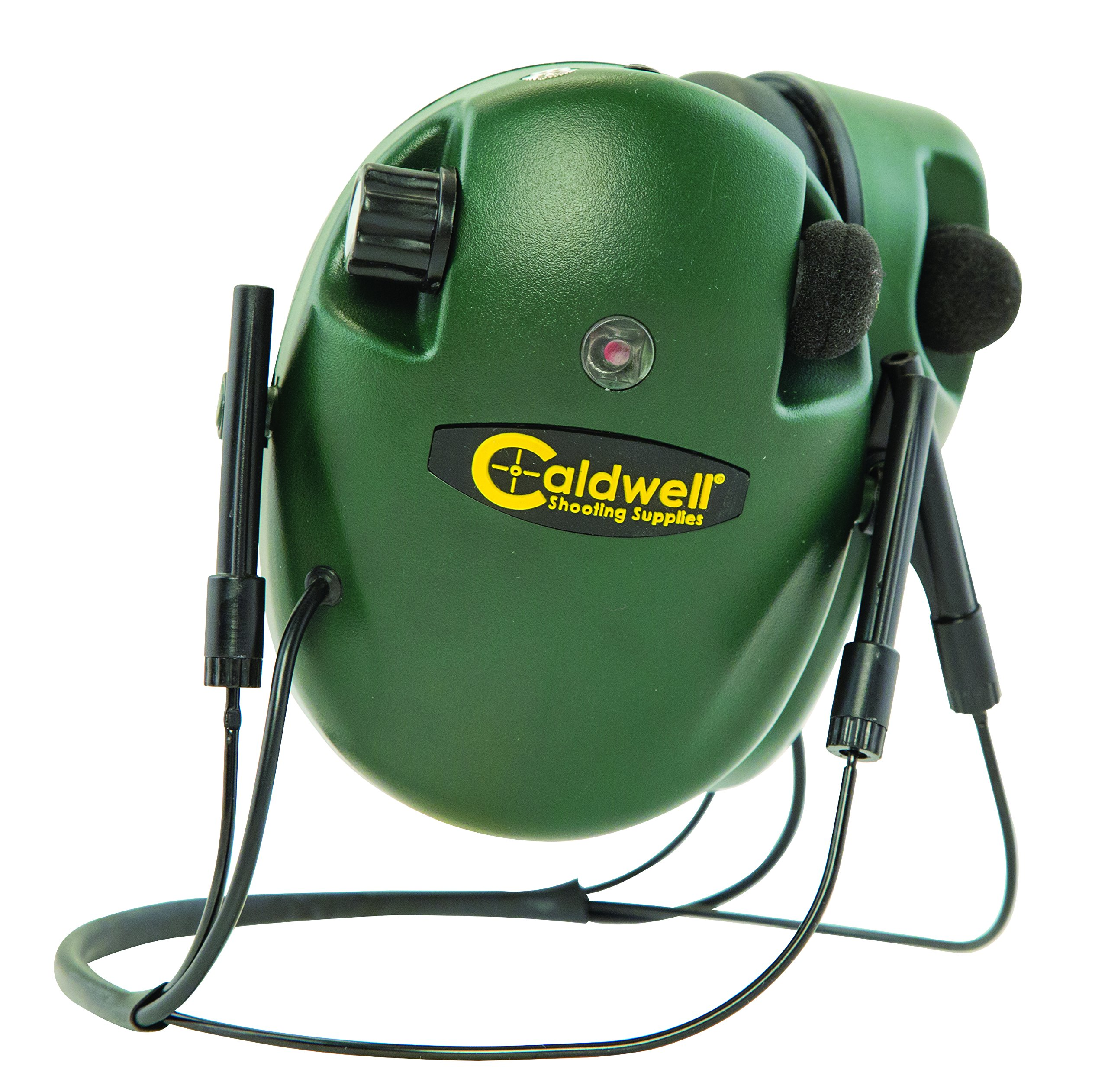 Caldwell E-Max Behind the Head (BTH) Electronic 20 NRR Hearing Protection with Sound Amplification and Adjustable Earmuffs for Shooting, Hunting and Range by Caldwell