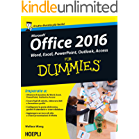 Office 2016 For Dummies: Word, Excel, Powerpoint, Outlook, Access