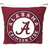 The Northwest Co. NCAA University of Alabama Woven Decorative Pillow, 20' Square
