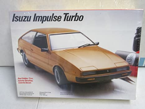 Testors Isuzu Impulse Turbo Model Kit 1/24