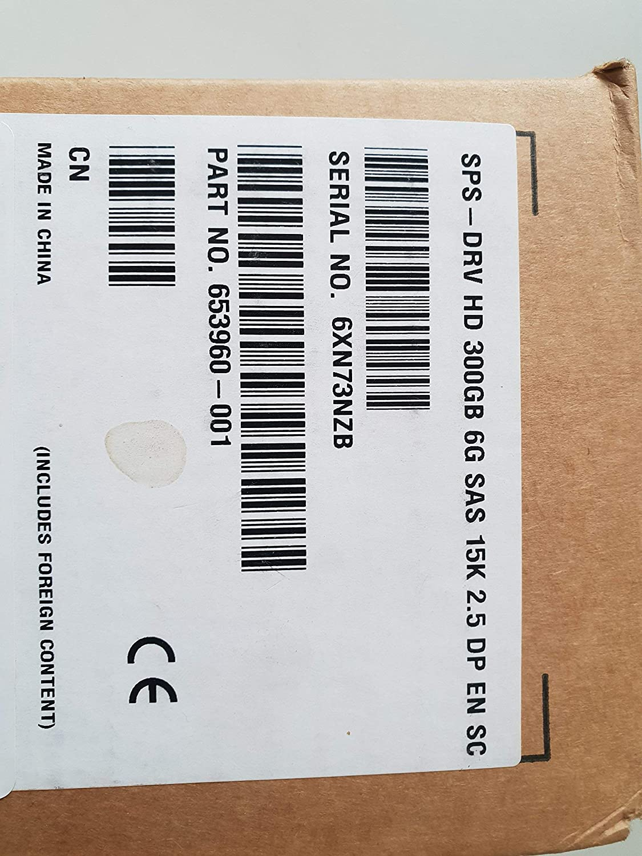 HP 653960-001 300 GB 2.5 Internal Hard Drive 652611-B21