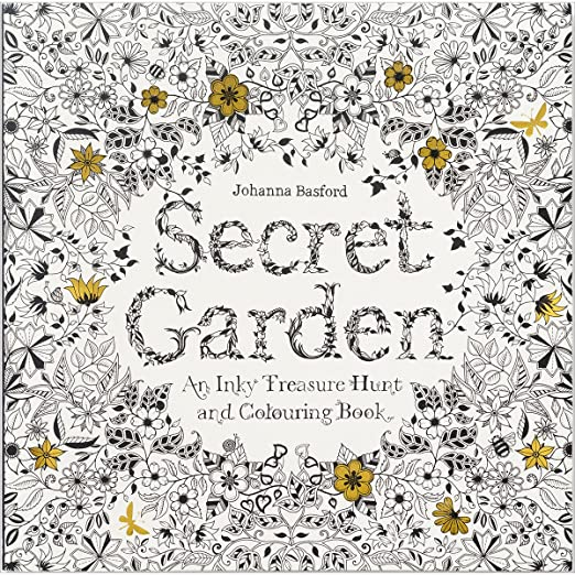 Chronicle Books Secret Garden Coloring Book Amazon De Kuche Haushalt