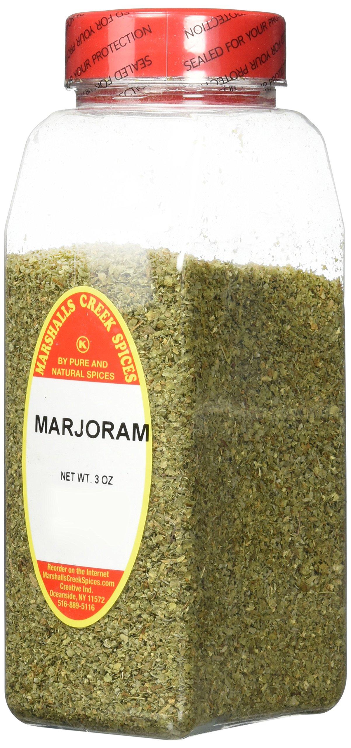 Marshalls Creek Kosher Spices MARJORAM 3 oz
