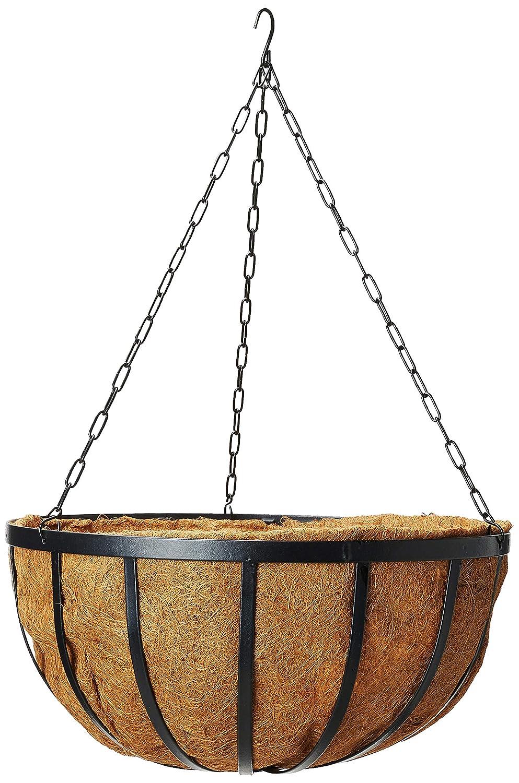 Arcadia Solstice Round Hanging Basket Planter, 20-Inch