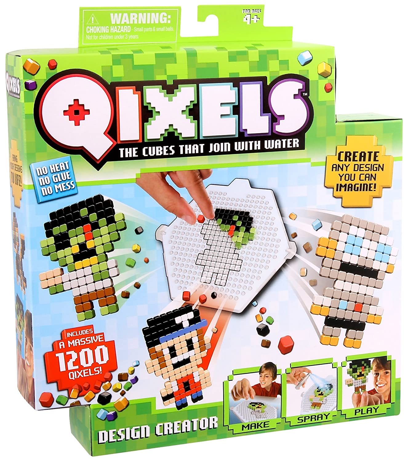 Qixels Design Creator Toy Character Options 87020