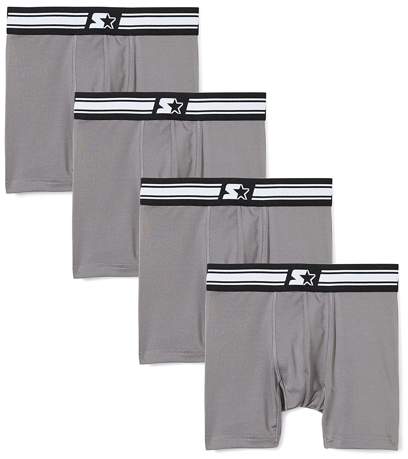 Starter Boys' Boxer Briefs 4-Pack, Prime Exclusive S17FBB22