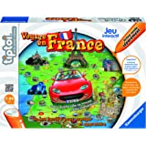 Ravensburger - 00557 - Jeu Éducatif Electronique - Jeu Voyage en France Tiptoi