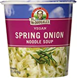Dr. McDougall's Right Foods Vegan Spring Onion Noodle Soup, 1.9-Ounce Cups (Pack of 6)