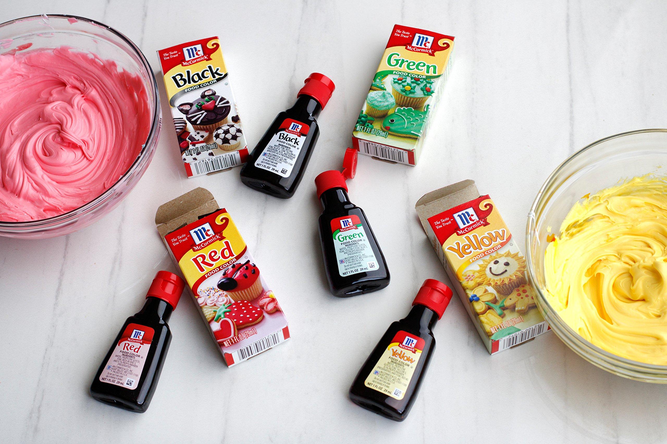 McCormick Red Food Color, 0.25 Fl. Oz (4 Count) - Buy Online ...