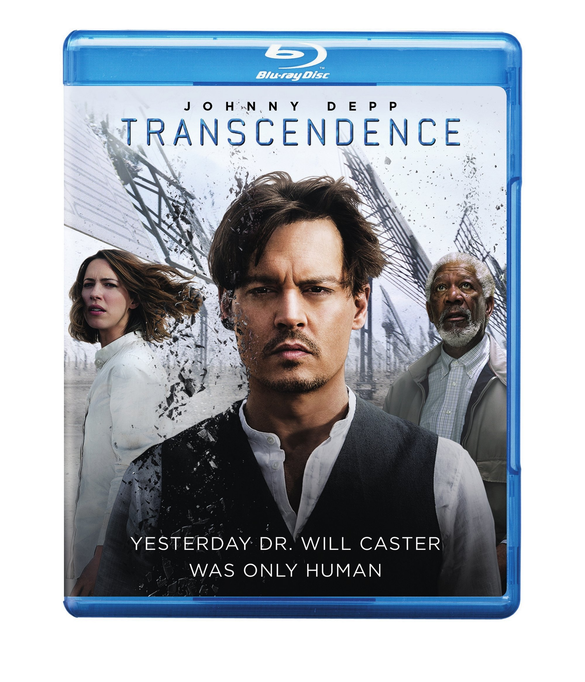 Blu-ray : Transcendence (With DVD, 2 Pack, Digital Copy, 2 Disc)