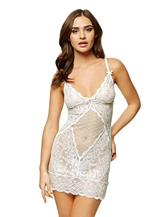 7d57b19187 Ann Summers Women s Sexy Lace Negligee  Amazon.co.uk  Clothing