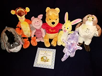 Disneys Winnie the Pooh and Friends Pooh, Piglet, Tigger, Eeyore, Rabbit,