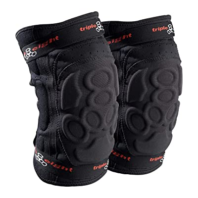 Triple Eight ExoSkin Knee Pad : Skate And Skateboarding Knee Pads : Sports & Outdoors