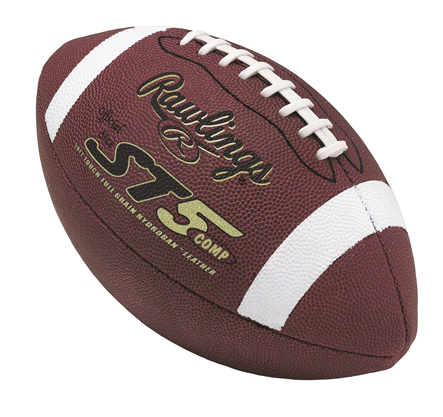 Rawlings Soft Touch Composite Official Size Game Football