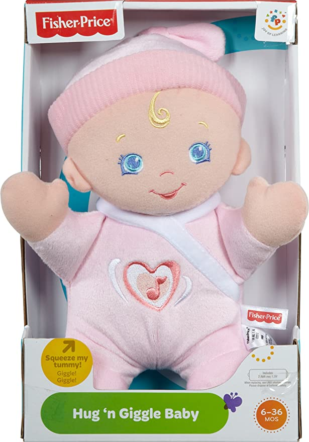 Amazon.com: Fisher-Price Brilliant Basics Hug n Giggle bebé ...