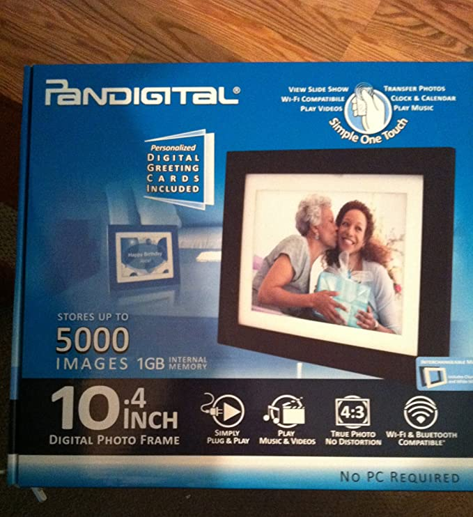 Amazon.com : 10.4 Inch Digital Photo Frame (Stores up to 5000 Images ...
